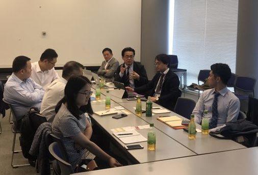 IDG中国とのコンソーシアムとのブロックチェーン状況説明会